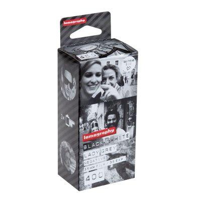 Lomography Lady Grey 400 B&N 35mm (pack 3)