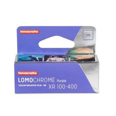 Lomography Lomochrome Purple XR 100-400 120