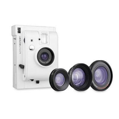 Lomo'Instant Blanca + 3 lentes