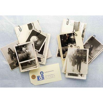 Reproducción artesana de fotografías de época