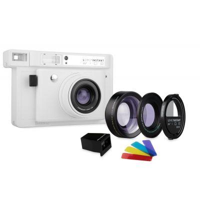 Lomo'Instant Wide Blanca + 3 lentes