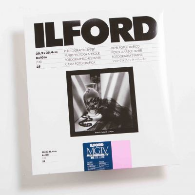 Ilford MULTIGRADE IV RC DELUXE Brillo 20x25 (25 Hojas)