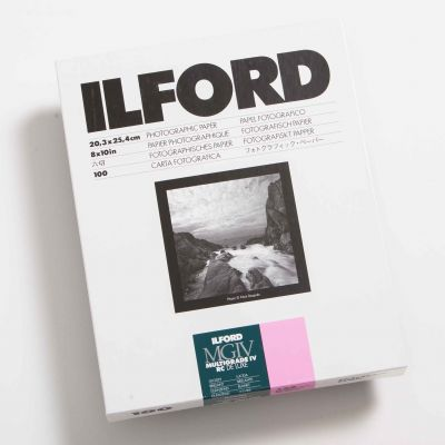 Ilford MULTIGRADE IV RC DELUXE Brillo 20x25 (100 Hojas)