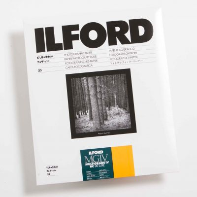 Ilford MULTIGRADE IV RC DELUXE Mate 18x24 (25 Hojas)