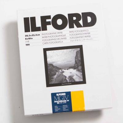 Ilford MULTIGRADE IV RC DELUXE Mate 20x25 (100 Hojas)