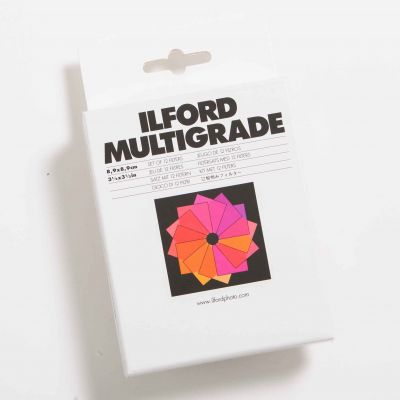 Ilford MULTIGRADE Set de 12 Filtros
