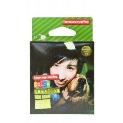Lomography Color 800 120 (pack 3)