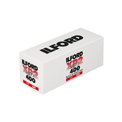 Ilford XP2 Super 400 B&N 120
