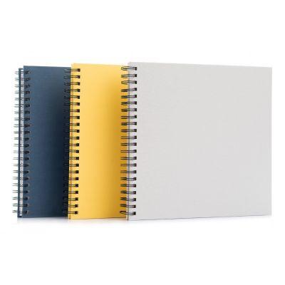 Álbum de fotos azul, gris o amarillo de cartulina 28x28