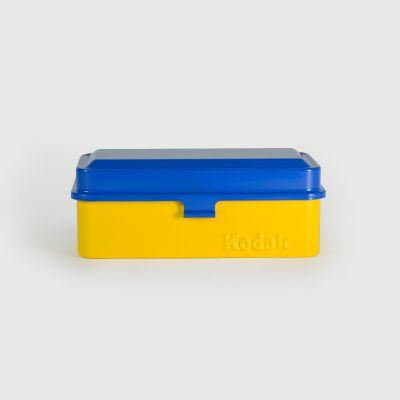 Carcasa Kodak 120/35mm Azul y Amarillo