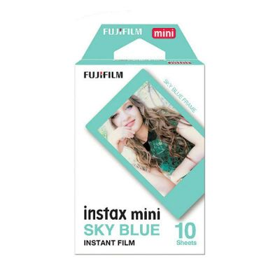 Fujifilm Instax Mini marco celeste - 10 hojas