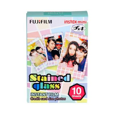 Fujifilm Instax Mini marco stained glass - 10 hojas