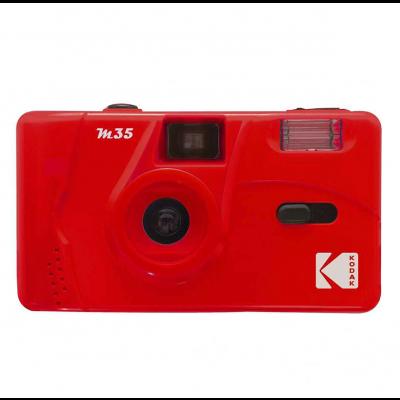 Cámara Kodak M35 roja