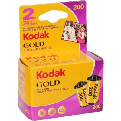 Kodak Gold 200 35mm 24 exp (pack 2)