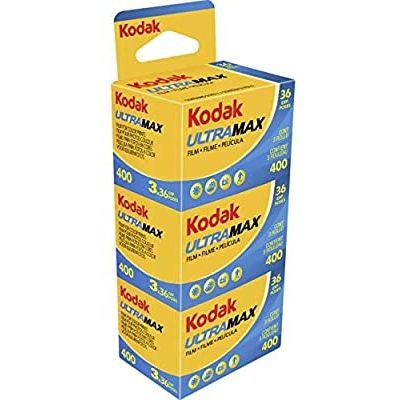 Kodak Ultramax 400 35mm (pack 3)