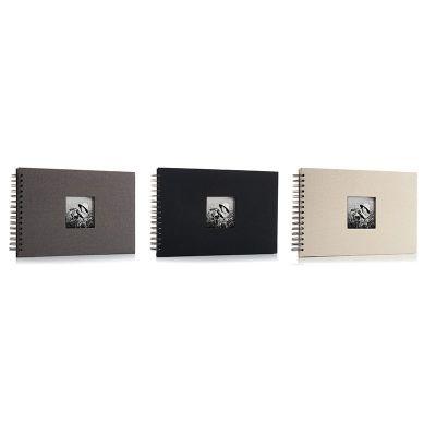 Álbum de Fotos  beige, gris o negro de cartulina 30x20